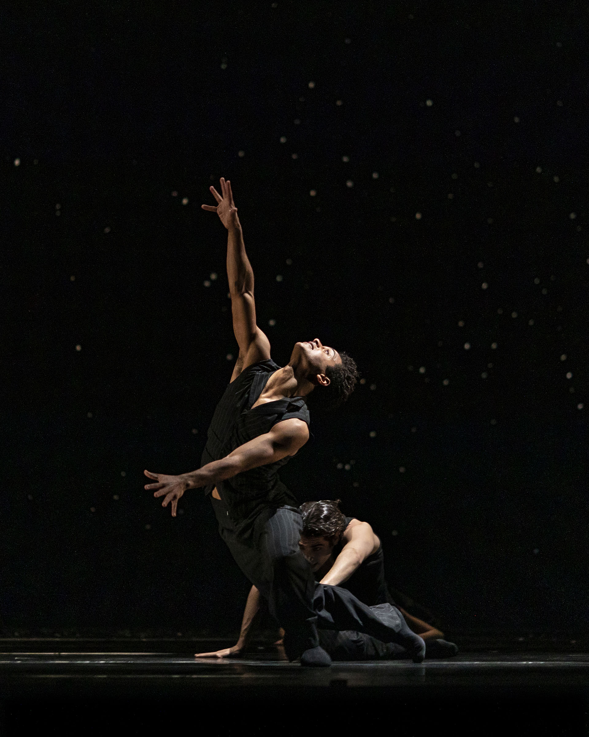 Marcelino Sambe and Cesar Corrales in 'Solo Echo', choreographed by Crystal Pite