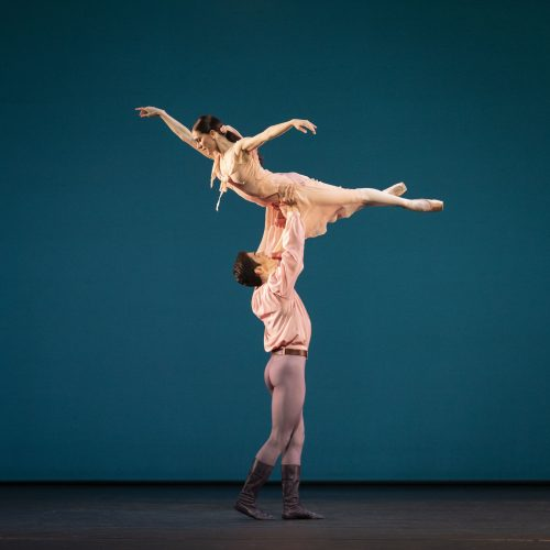 Federico Bonelli and Marianela Nuñez in Dances at a Gathering