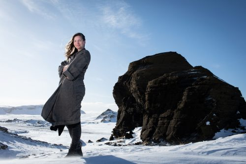 A portrait of Eveline in Iceland by Helen Maybanks