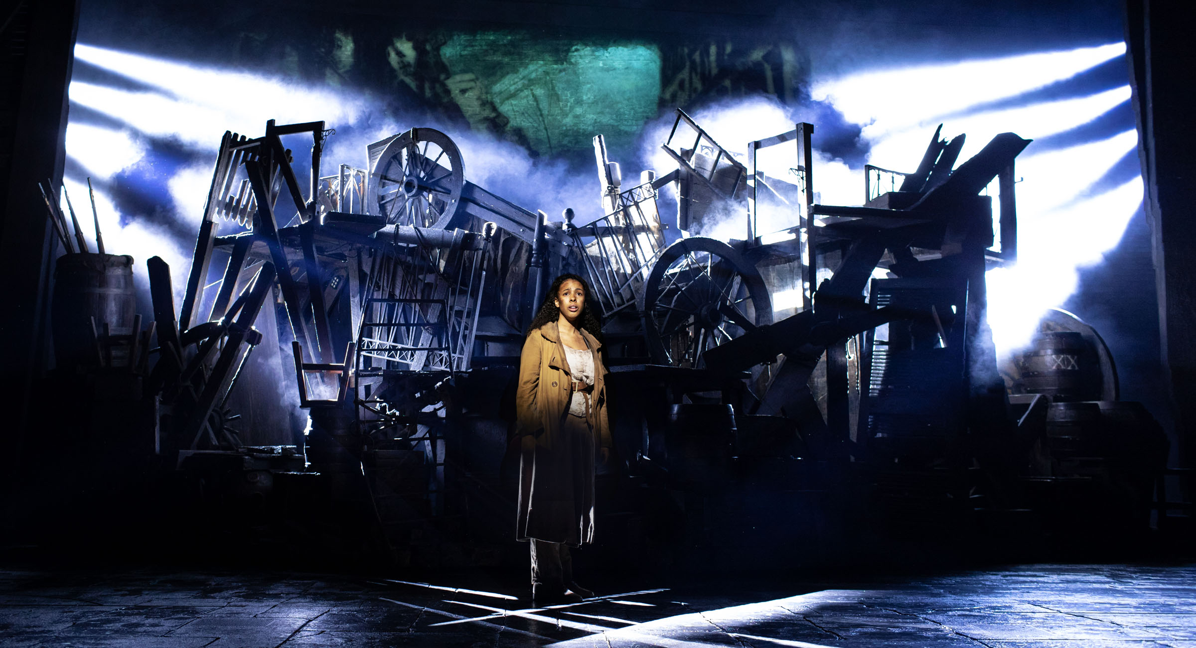 Tegan Bannister as Eponine in Les Misérables by Helen Maybanks