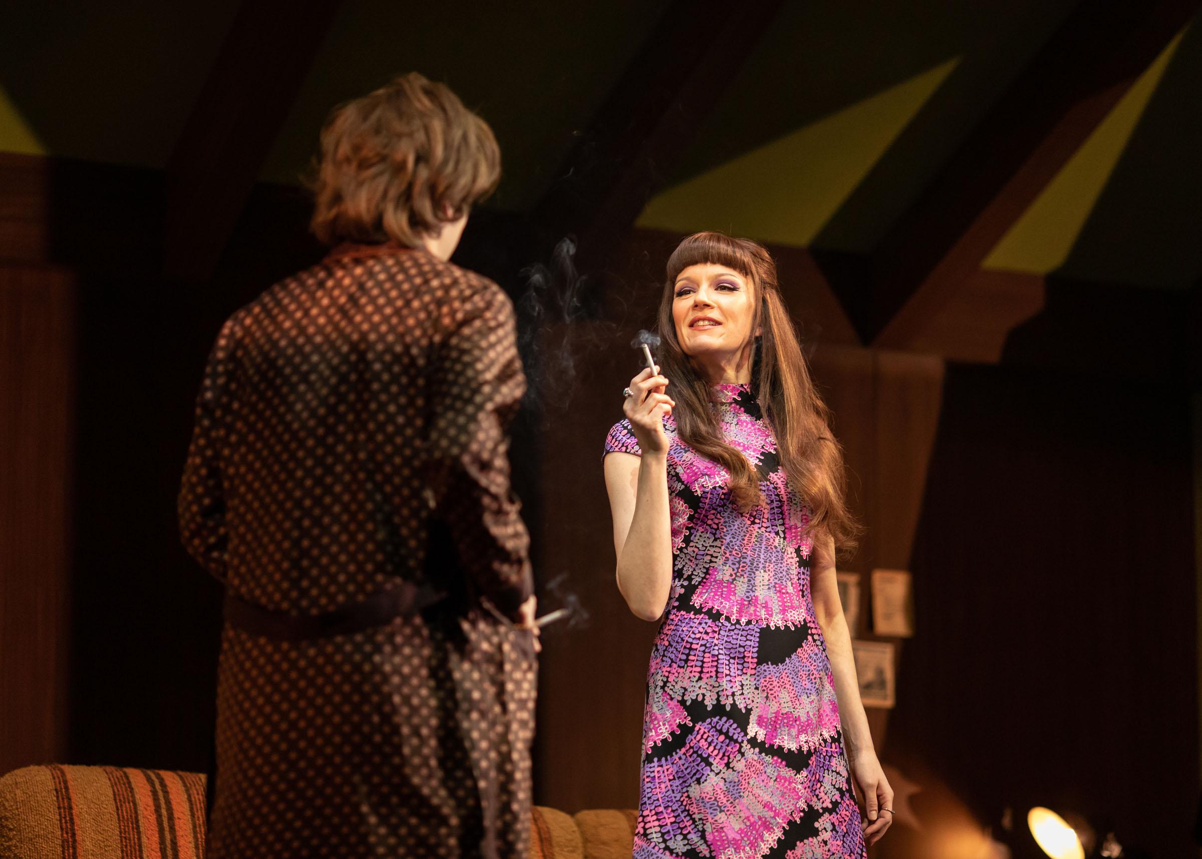 Nicholas Burns (Kenneth) and Rachael Stirling (Sandra) in Love Love Love